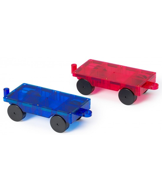 Set Playmags - 2 baze pentru mașini magnetice