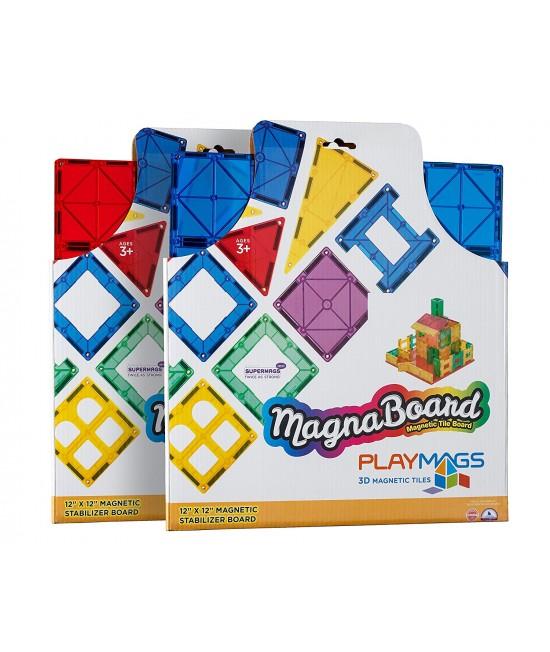 Placă de bază pentru construcții Playmags MagnaBoard Stabilizatoare