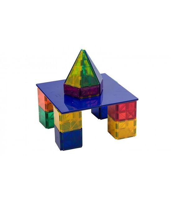 Placă de bază pentru construcții Playmags MagnaBoard albastră