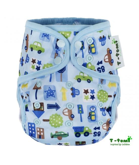 Cover (protecție pentru scutece) T-Tomi Blue Cars