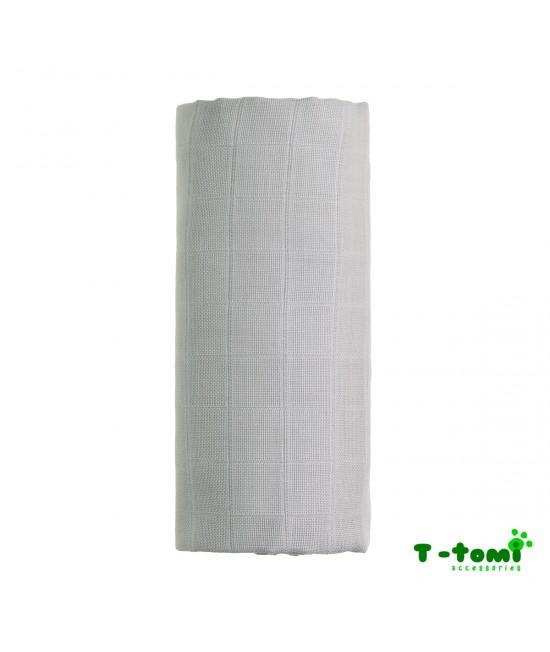 Prosop din bambus BIO T-Tomi - Grey