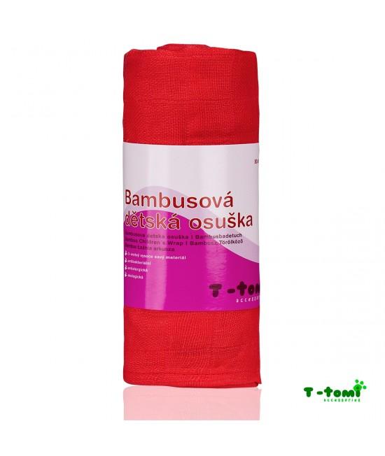 Prosop din bambus T-Tomi - Pink