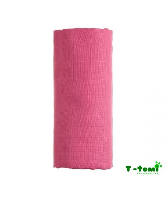 Prosop din bambus BIO T-Tomi - Pink
