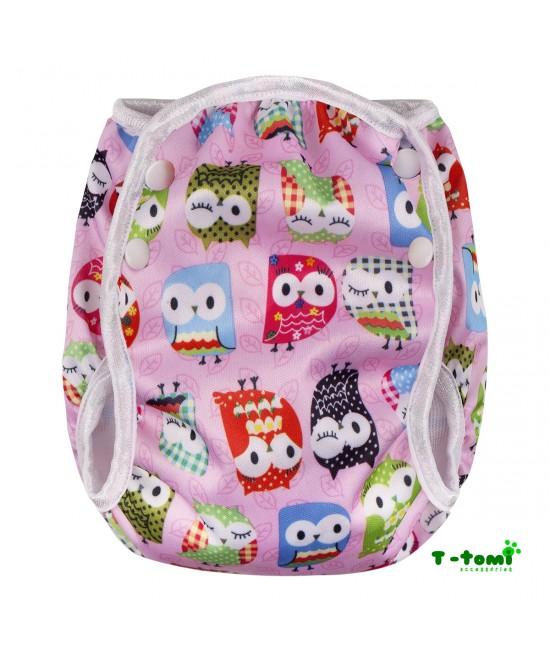 Scutec refolosibil de înot T-Tomi Pink Owl