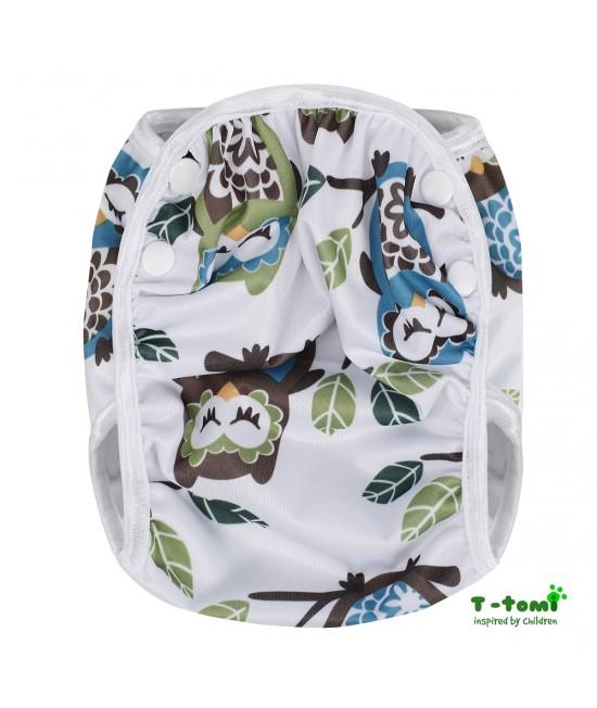 Scutec refolosibil de înot T-Tomi White Owl