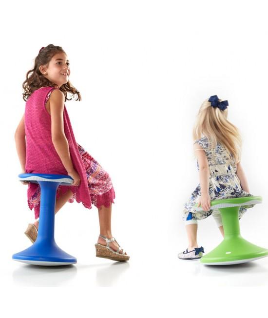Scaun kinetic de echilibru Tilo 5-8 ani bleumarin