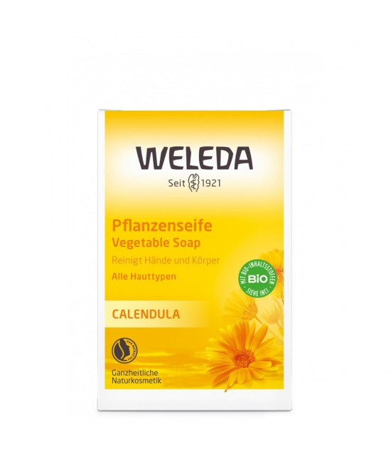 Săpun vegetal cu extract de gălbenele Weleda Baby BIO