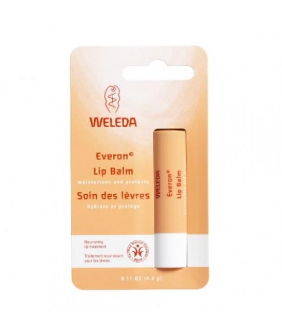Balsam de buze natural Weleda Everon cu protecție solară SPF 4