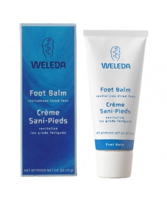 Balsam natural pentru picioare Weleda - 75 ml