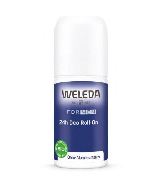 Deodorant natural Weleda roll-on Men pentru bărbați