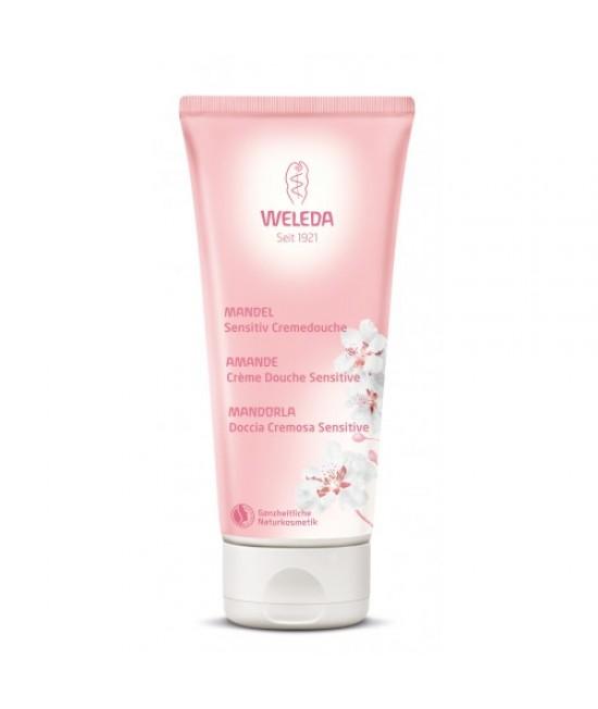 Loțiune de duș naturală cu migdale Weleda pentru piele sensibilă