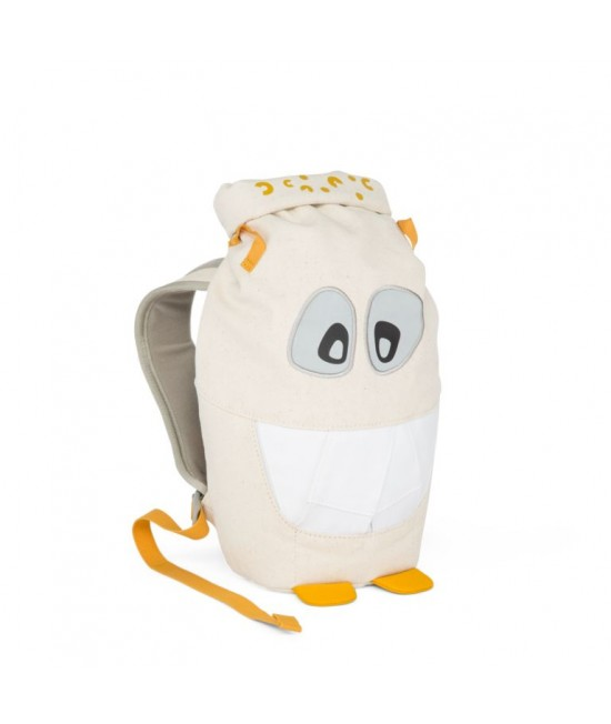 Ghiozdan eco Affenzahn Monster Friends Yellow Mighty Monster