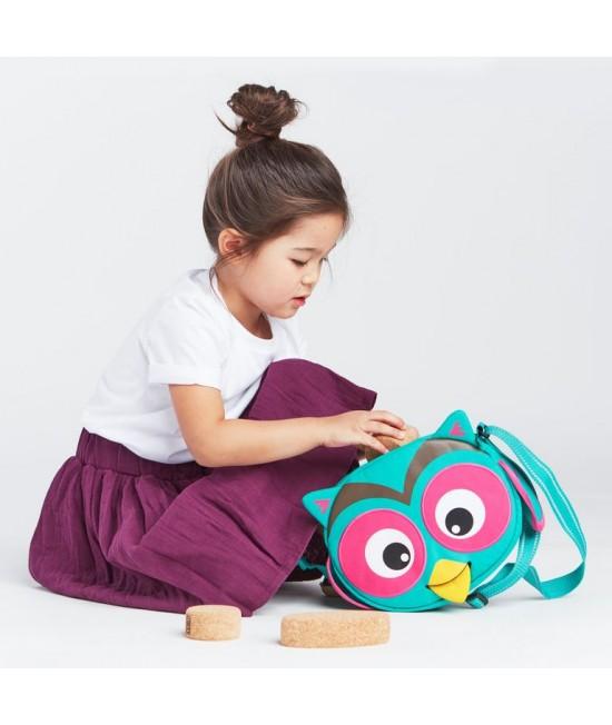 Geantă de umăr eco Affenzahn Mini Friends Olivia Owl