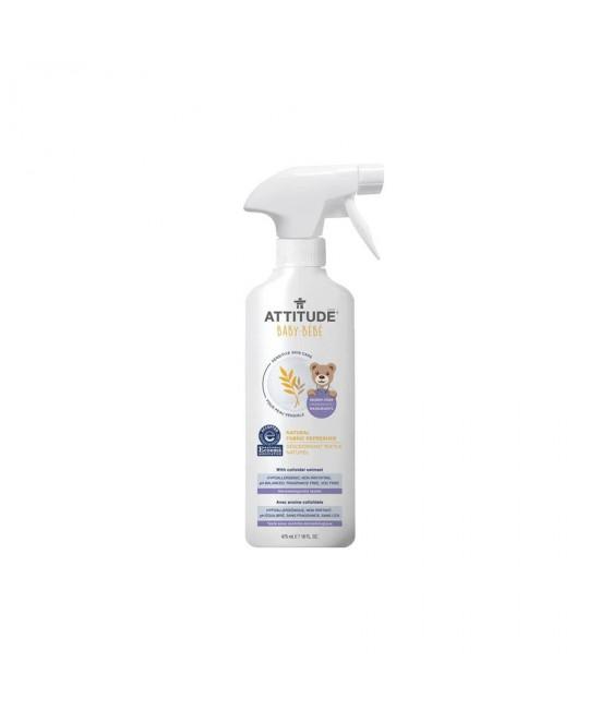 Soluție ecologică SENSITIVE de eliminare a mirosurilor și reîmprospătare a hainelor copiilor - Attitude fără miros pentru piele sensibilă sau dermatită atopică