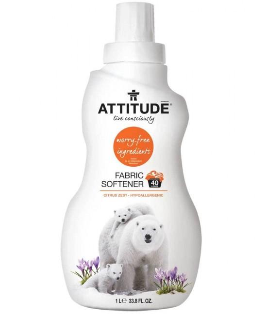 Balsam ecologic de rufe Attitude cu miros de coajă de citrice - 1 litru
