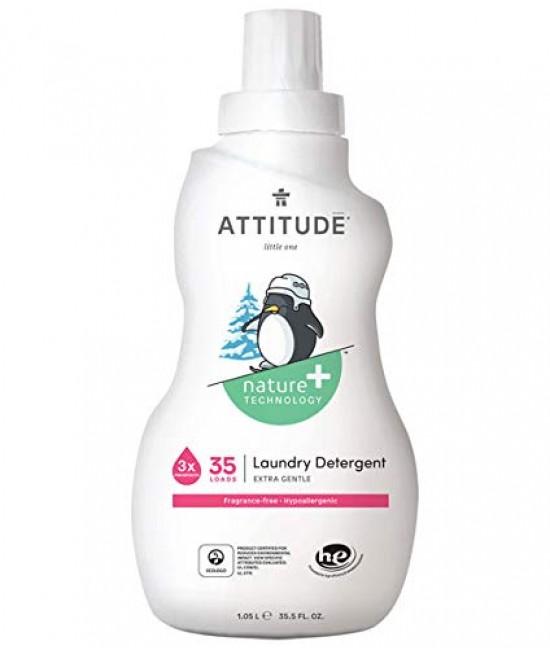 Detergent ecologic lichid de rufe pentru bebeluși - Attitude fără miros