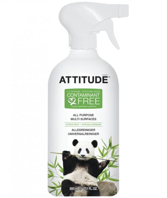 Soluție ecologică universală de curățat Atttitude cu coajă de citrice