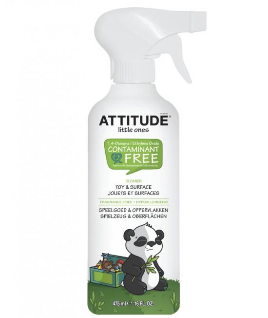 Soluție ecologică de curățat jucării și suprafețe - Attitude fără miros