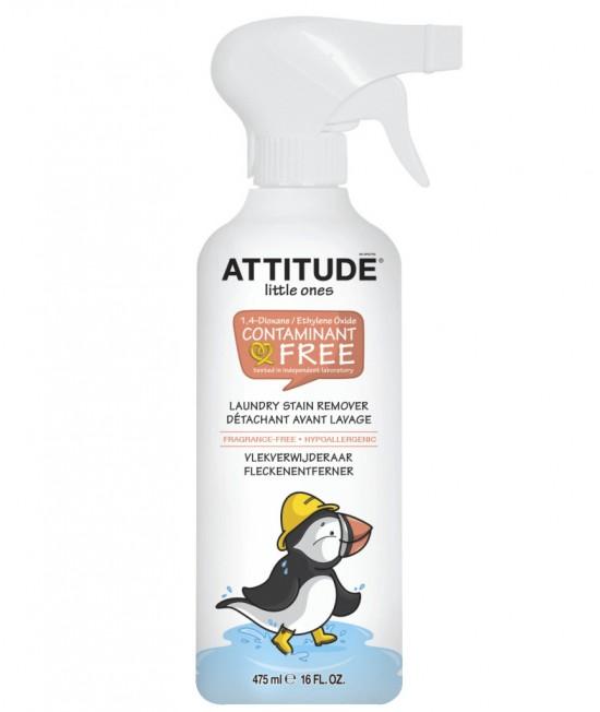 Soluție ecologică de îndepărtare a petelor de pe hainele copiilor - Attitude fără miros