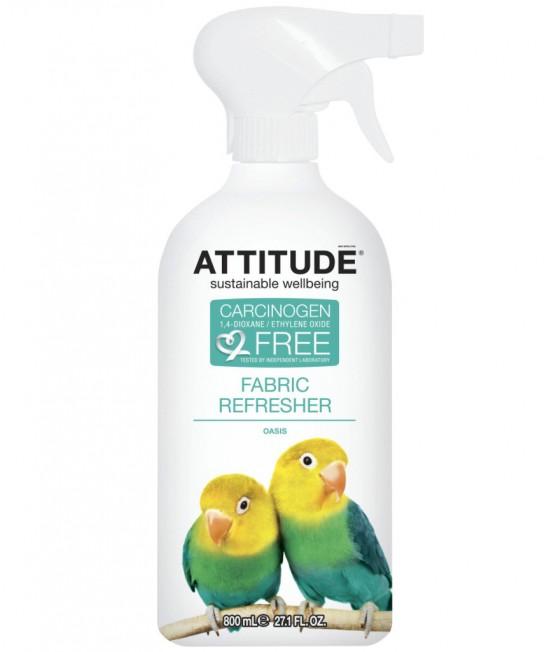 Soluție ecologică pentru eliminarea mirosurilor și reîmprospătarea țesăturilor Atttitude Oasis