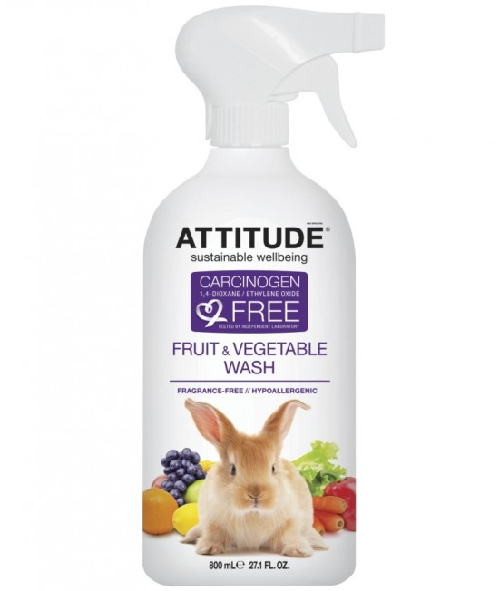 Soluție ecologică pentru deceruirea fructelor și legumelor - Atttitude fără miros