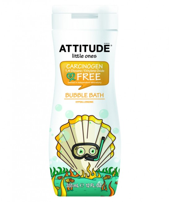 Spumant de baie ecologic pentru copii - Attitude - 355 ml