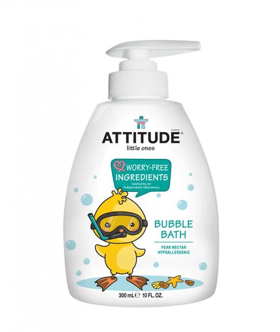 Spumant de baie ecologic pentru copii - Attitude cu nectar de pere
