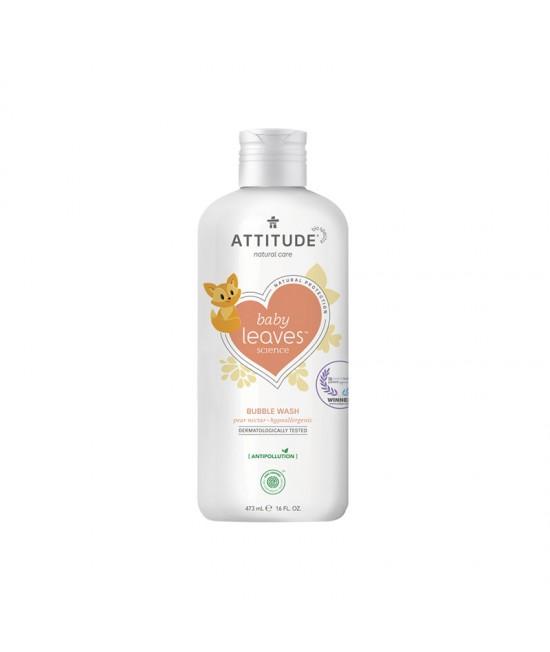 Spumant de baie ecologic pentru bebeluși și copii - Attitude cu nectar de pere - 473 ml