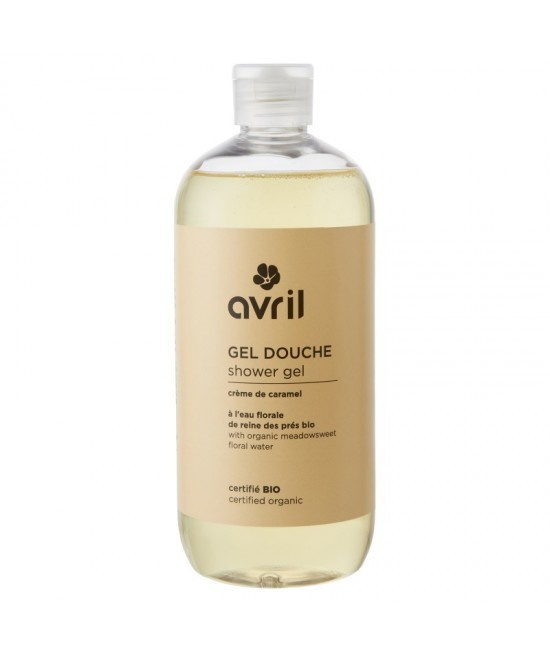 Gel de duș BIO Avril cu caramel - 500 ml