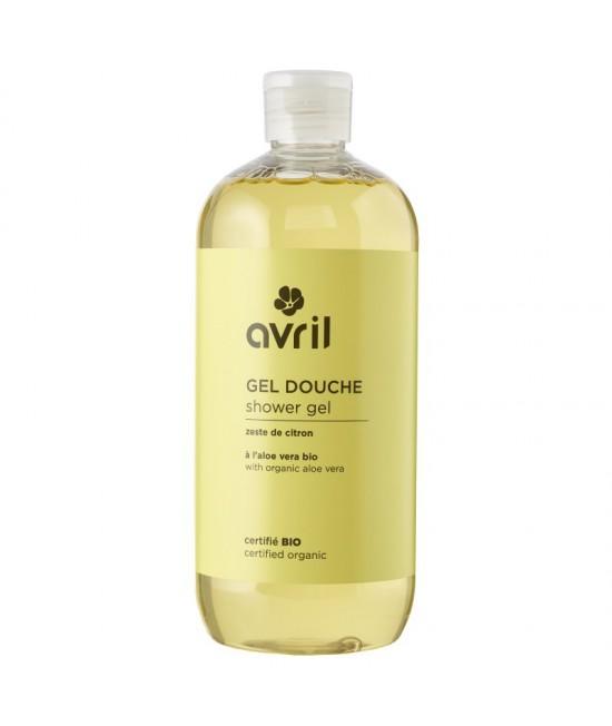 Gel de duș BIO Avril cu lămâie și aloe vera - 500 ml