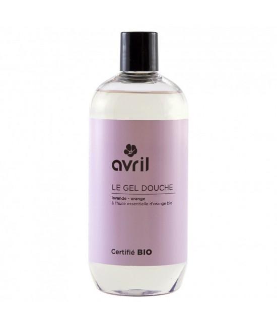 Gel de duș BIO Avril cu lavandă și portocale - 500 ml