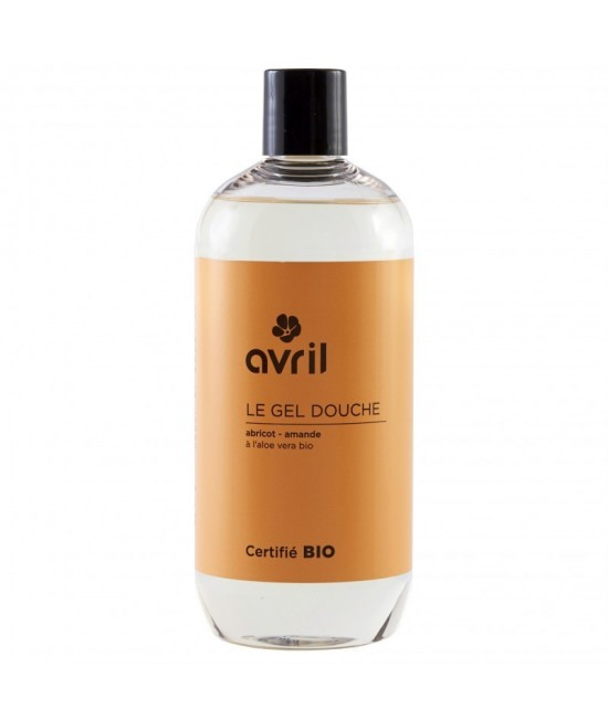 Gel de duș BIO Avril cu migdale și caise - 500 ml