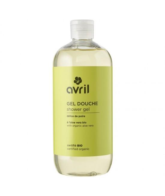 Gel de duș BIO Avril cu pere și aloe vera - 500 ml
