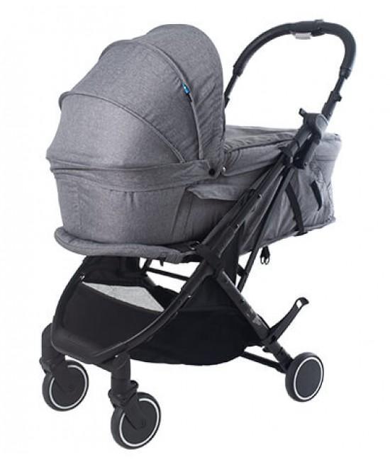 Cărucior pentru copii 2 în 1 Axkid Life (sport + landou) - sistemul modular I-Size