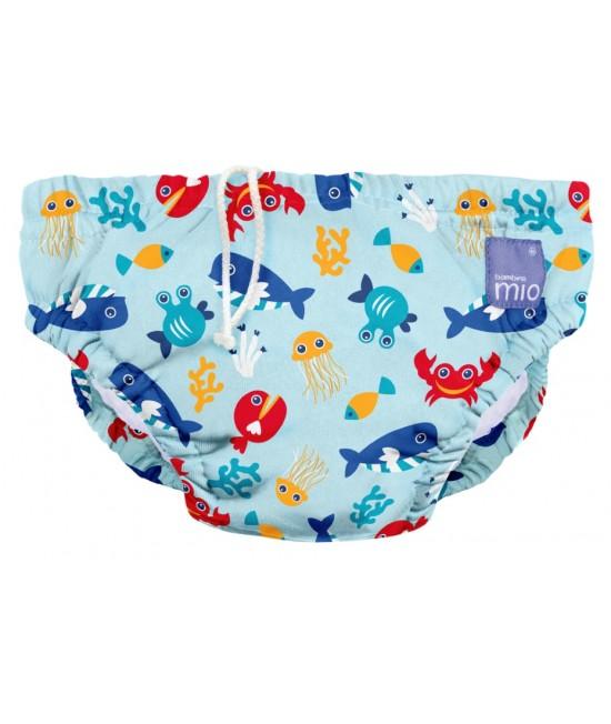 Scutec refolosibil pentru înot Bambino Mio - Deep Sea Blue