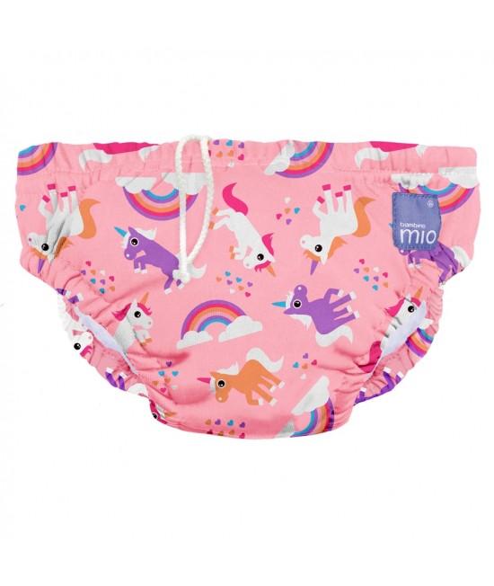 Scutec refolosibil pentru înot Bambino Mio - Unicorn