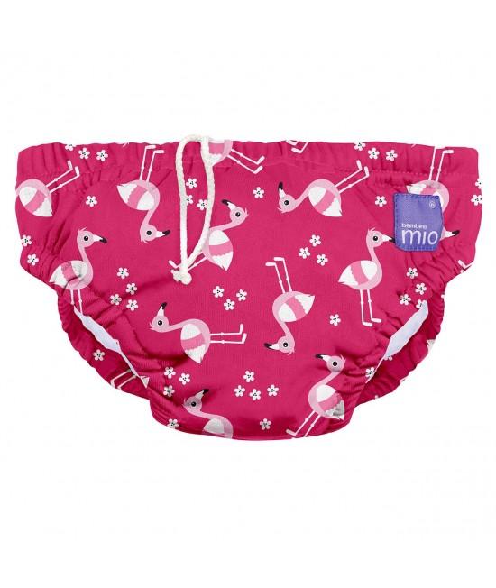 Scutec refolosibil de apă Bambino Mio - Pink Flamingo