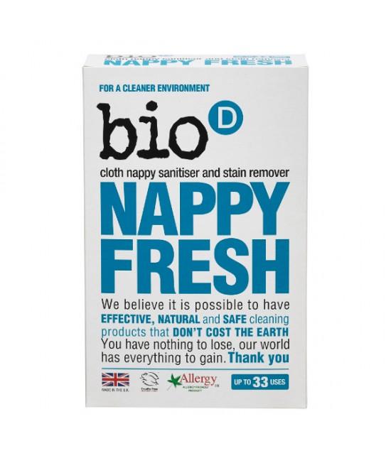 Detergent dezinfectant ecologic pudră Bio-D hipoalergenic, vegan, special pentru scutece textile - 500 grame