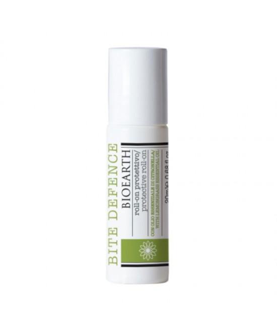 Roll-on repelent natural împotriva țânțarilor Bite Defence Bioearth - 20 ml - pe bază de uleiuri esențiale