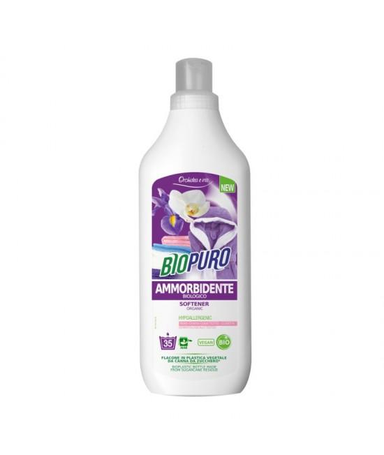 Balsam BIO hipoalergen Biopuro cu iris și orhidee pentru rufe - 1 litru