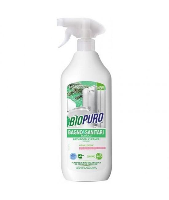 Detergent BIO hipoalergen Biopuro pentru baie și obiecte sanitare