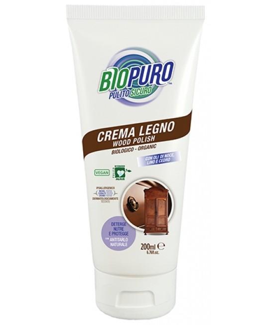 Cremă BIO hipoalergenă Biopuro pentru curățarea și întreținerea lemnului