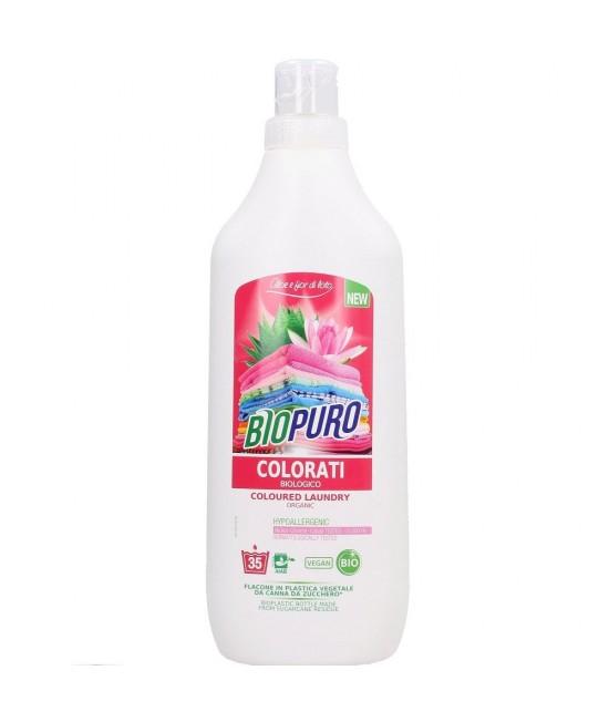 Detergent BIO hipoalergen Biopuro pentru rufe colorate