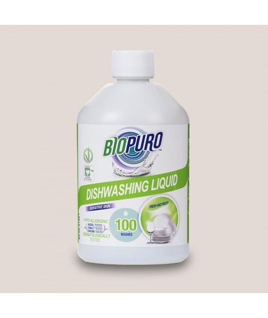 Detergent BIO hipoalergen Biopuro pentru spălat vase