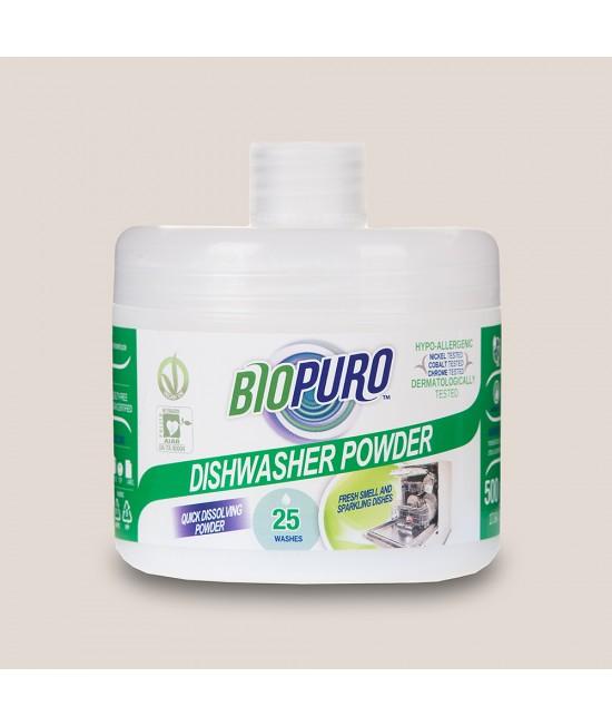 Detergent BIO hipoalergen praf Biopuro pentru mașina de spălat vase