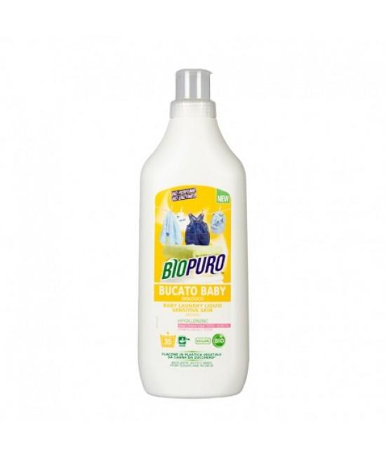 Detergent BIO hipoalergen Biopuro pentru hainele bebelușilor și copiilor