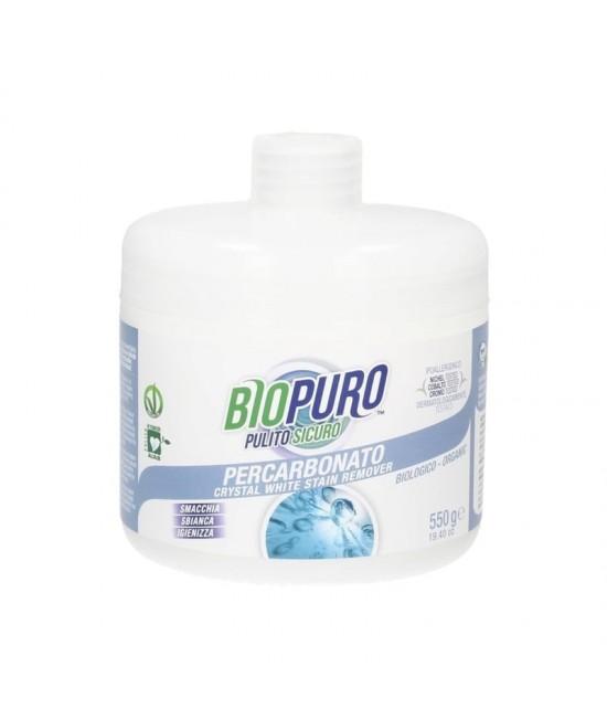 Înălbitor ecologic hipoalergen Biopuro cu oxigen activ (percarbonat) pentru pete dificile