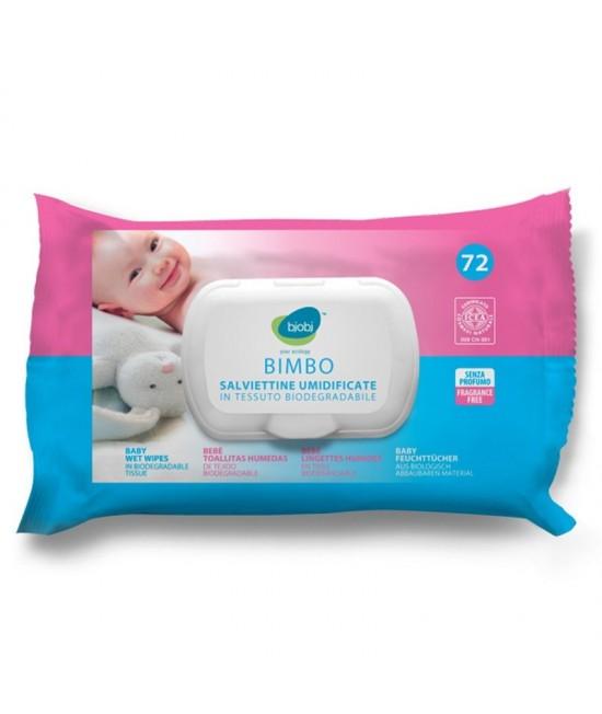 Șervețele umede BIO Bjobj pentru bebeluși - biodegradabile cu pH neutru