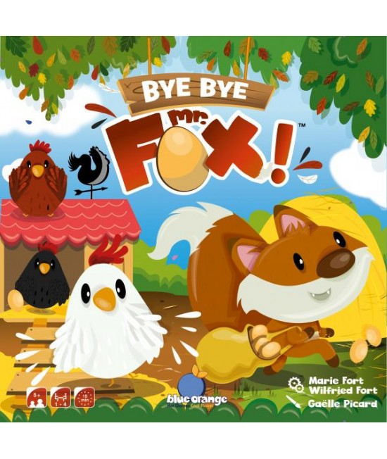 Bye bye Mr. Fox! - joc de cooperare Blue Orange
