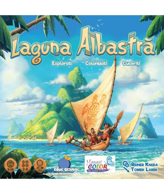 Laguna albastră - joc boardgame de strategie Blue Orange